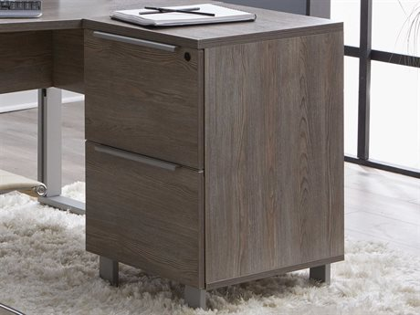 Unique Furniture Kalmar Grey File Cabinet
