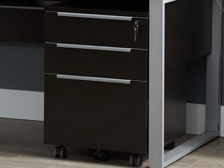 Unique Furniture Kalmar Espresso File Cabinet