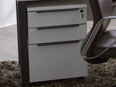 Unique Furniture Kalmar White File Cabinet