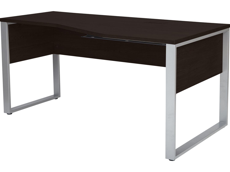 Astounding Unique Furniture Kalmar Espresso Computer Desk Bralicious Painted Fabric Chair Ideas Braliciousco