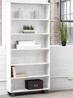 Unique Furniture Kalmar White Bookcase