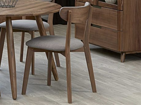 Unique Furniture Tahoe Walnut Side Dining Chair
