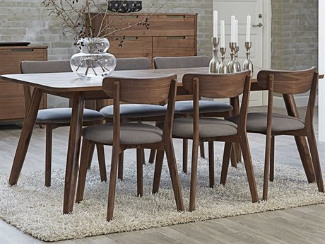 Unique Furniture Tahoe 60'' Wide Rectangular Dining Table