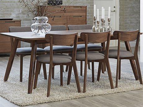 Unique Furniture Tahoe 77'' Wide Rectangular Dining Table
