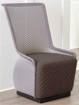Unique Furniture Tulip Grey / Black Accent Chair JE5440