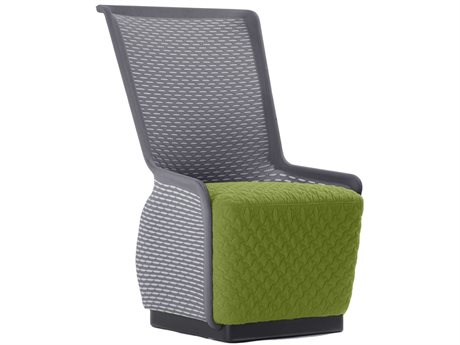 Unique Furniture Tulip Grey / Green Accent Chair JE5442