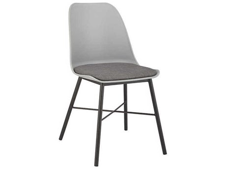 Unique Furniture Whistler Grey / Side Dining Chair (Sold in 2)