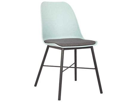 Unique Furniture Whistler Light Blue / Grey Side Dining Chair (Sold in 2) JE1029