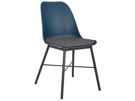 Unique Furniture Whistler Navy / Grey Side Dining Chair (Sold in 2) JE1039