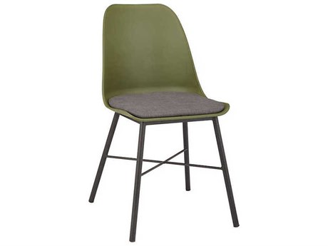 Unique Furniture Whistler Olive Green / Grey Side Dining Chair (Sold in 2) JE1049