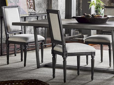 Universal Furniture Berkeley-3 Brownstone Bergere Dining Side Chair (Sold in 2) UF311734RTA