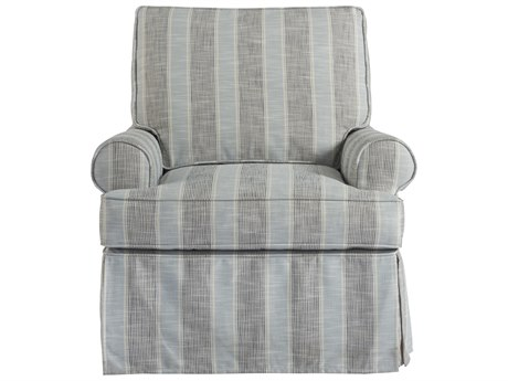 Universal Furniture Coastal Living Blanton Denim Glider Club Chair
