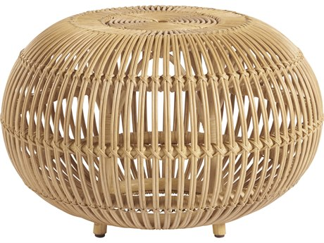 Universal Furniture Coastal Living Rattan 26'' Wide Round Coffee Table UF833811