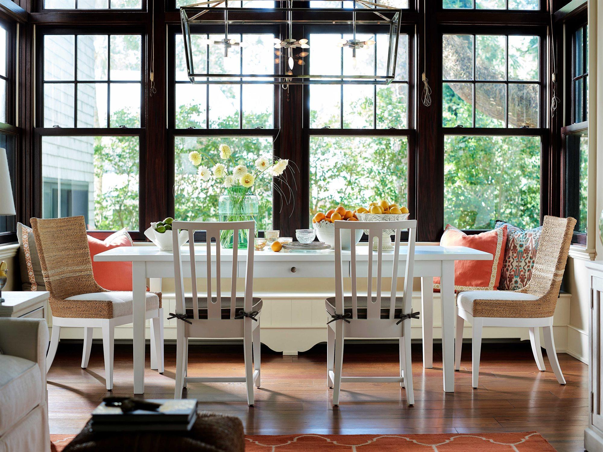 universal furniture coastal living casual dining room set uf833e654set2