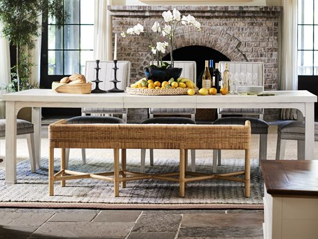 Universal Furniture Coastal Living Sandbar 80-104'' Wide Rectangular Dining Table