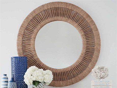 Universal Furniture Coastal Living Woven Abaca Dresser Mirror