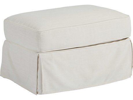 Universal Furniture Coastal Living Daily Snow Ottoman