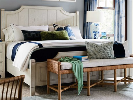 Universal Furniture Coastal Living Sandbar King Panel Bed