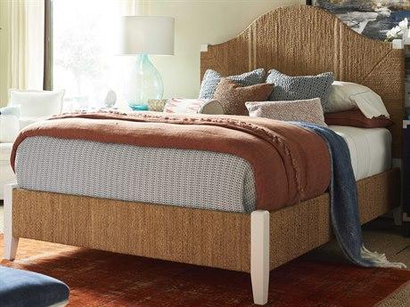 Universal Furniture Coastal Living Sailcloth Queen Platform Bed