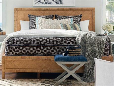 Universal Furniture Coastal Living Split Rattan And Raffia King Platform Bed