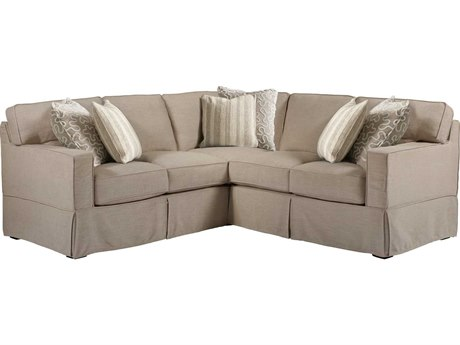 Universal Furniture Coastal Living Castle Hemp Sectional Sofa