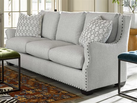 Universal Furniture Connor Sumatra / Taylor Glass Fabric Sofa