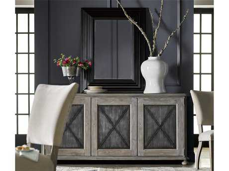 Universal Furniture Curated 76''L x 19''W Rectangular Greystone Glenmore Sideboard