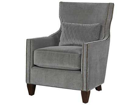 Universal Furniture Curated Grey Cloud Barrister Accent Chair