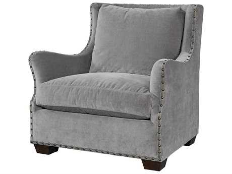 Universal Furniture Curated Grey Cloud Connor Club Chair