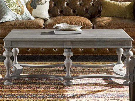 Universal Furniture Curated 50''L x 28''W Rectangular Greystone Andover Cocktail Table UF558801