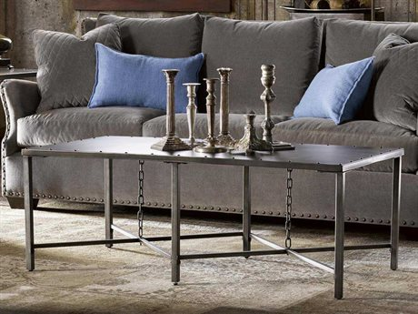 Universal Furniture Curated 52''L x 27''W Rectangular Greystone Eliston Cocktail Table