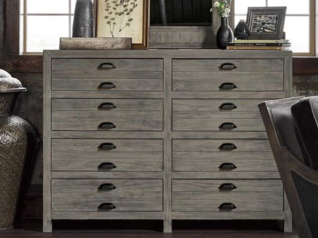 Universal Furniture Curated Greystone 8 Drawers and up Double Dresser
