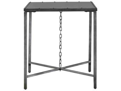 Universal Furniture Curated 24''L x 26''W Rectangular Greystone Eliston End Table