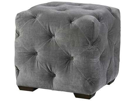 Universal Furniture Curated Grey Cloud Barkley Ottoman