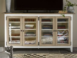 Curated Terrace Gray / Washed Linen TV Stand