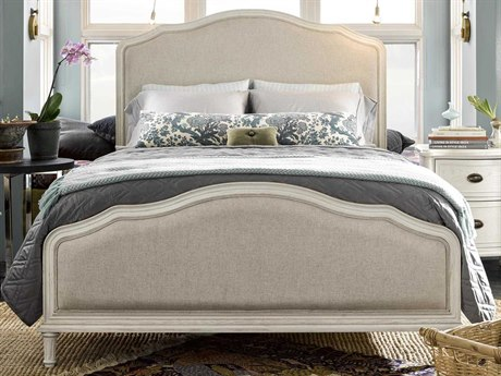 Universal Furniture Curated Cotton Queen Panel Bed