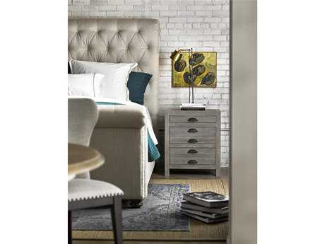 Universal Furniture Curated Greystone 3 Drawers Nightstand