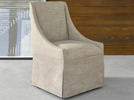 Universal Furniture Modern Mahogany Side Rolling Dining Chair UF644735