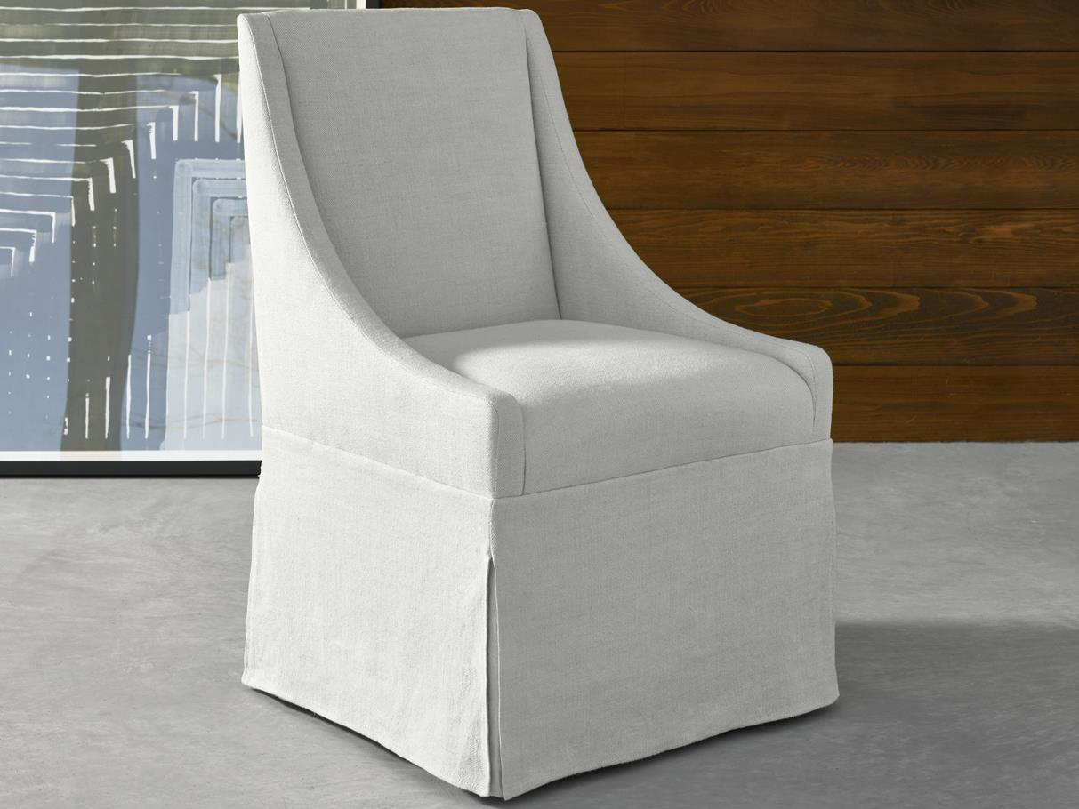 Surprising Universal Furniture Modern Flint Side Rolling Dining Chair Uwap Interior Chair Design Uwaporg