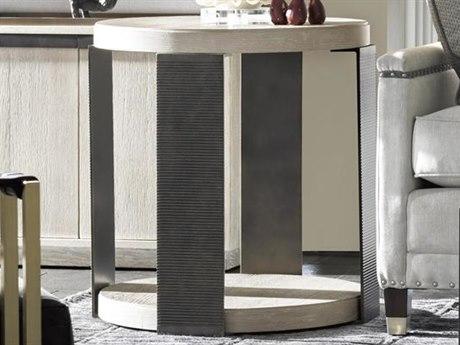 Universal Furniture Modern 24'' Wide Round Drum Table UF643815