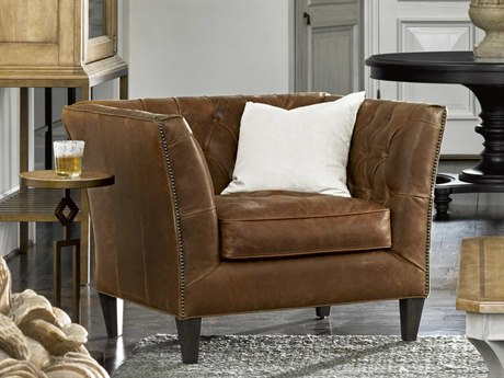 Universal Furniture Duncan Sheridan Chestnut Accent Chair