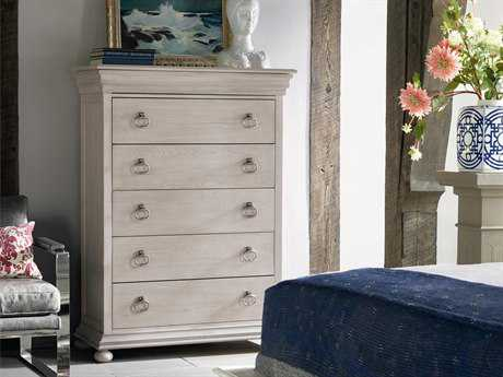 Universal Furniture Elan 44''W x 19''D Rectangular Belgian Wheat Chest of Drawers UF637150