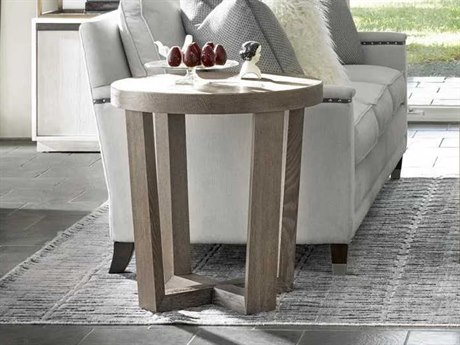 Universal Furniture Modern 25'' Wide Round End Table