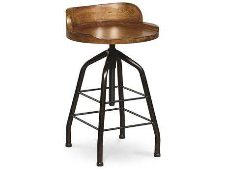 Universal Furniture Great Rooms Hickory Stick & Black Potter Counter Stool (Sold in 2) UF125702