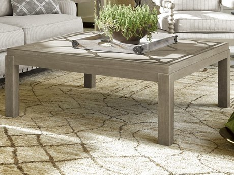 Universal Furniture Griffin Greystone / Pewter 43'' Wide Square Coffee Table