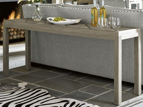 Universal Furniture Griffin Greystone / Pewter 74'' Wide Rectangular Console Table