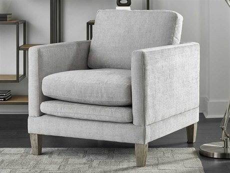 Universal Furniture Kingsley Swank Ice Fog Accent Chair