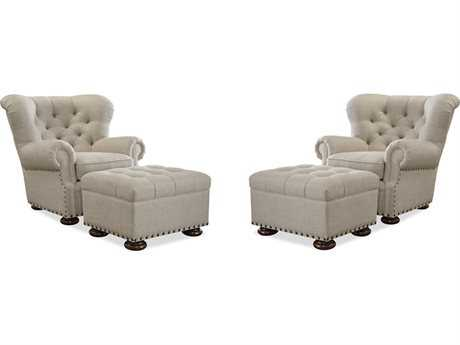 Universal Furniture Maxwell Accent Chair Living Room Set (Sold in 2) UF437503100SET
