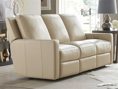Universal Furniture Motion Hudson Ivory Sofa Couch