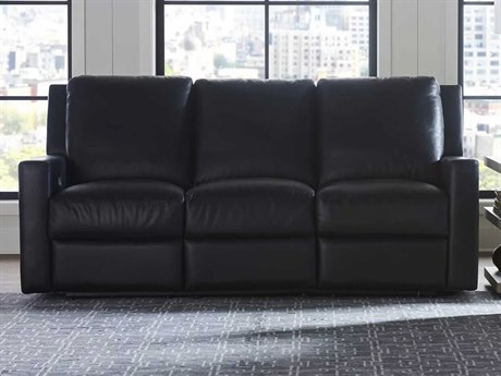 Universal Furniture Motion Hudson Jet Black Sofa Couch